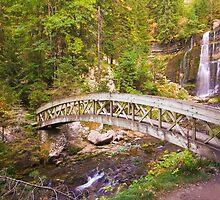 The Bridges To Saint-Même Falls by Sylvain Girard