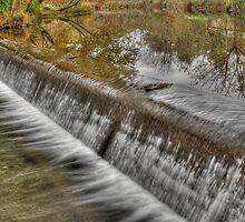 Whitehall Falls on the Gunpowder by Rob Diffenderfer