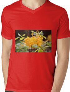 Yellow Wild Azalea  Mens V-Neck T-Shirt