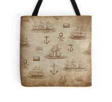 Vintage Expedition, A Collection of Ships Tote Bag