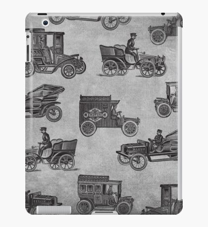 Collection of Vintage Cars iPad Case/Skin