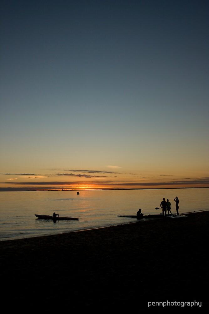 Joy Of Sunset by pennphotography