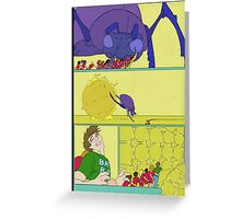 """""""This kept the brain both happy, and active for Rob that night"""" Greeting Card"""