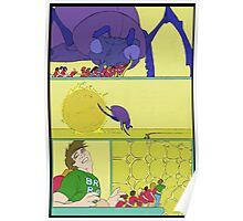 """This kept the brain both happy, and active for Rob that night"" Poster"