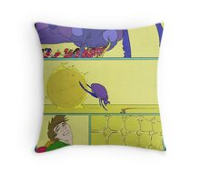 """""""This kept the brain both happy, and active for Rob that night"""" Throw Pillow"""