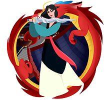 Mulan by karrashi