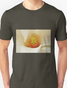 Center Of Magnolia Flower T-Shirt