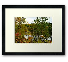 Autunm in NE Sask,Canada Framed Print