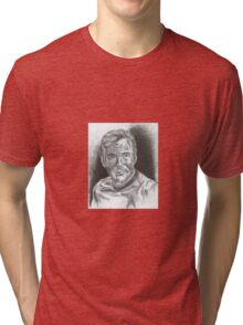 William Shatner as Captain James Kirk Tri-blend T-Shirt