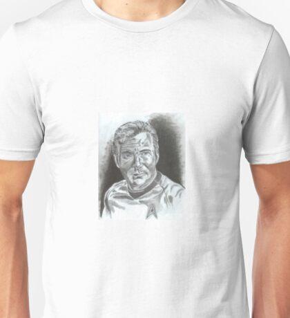 William Shatner as Captain James Kirk Unisex T-Shirt