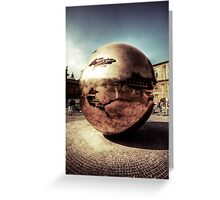 Sphere within Sphere Greeting Card