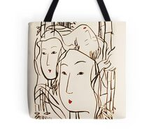 Japanese Bamboo Forest Tote Bag