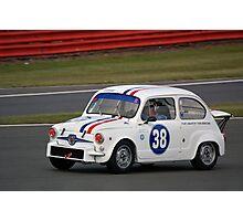 Fiat Abarth Photographic Print