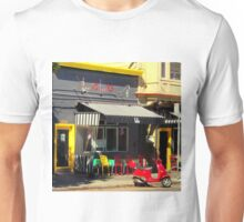 LoLo And Behold...One Yellow Chair Unisex T-Shirt
