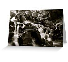 The cascades Greeting Card