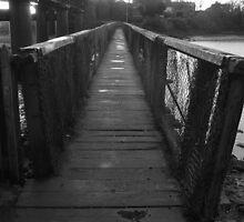 Wooden Footbridge At Laytown by Munich