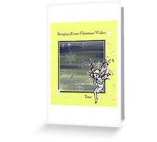 Bringing Christmas Wishes True. Greeting Card