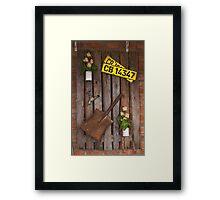 Wall Hanger 2 Framed Print