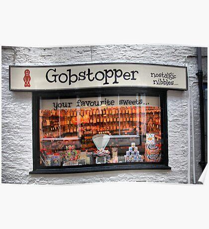 Gobstopper Sweet Shop Poster