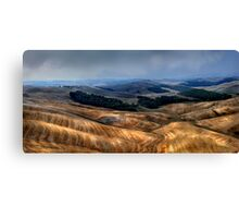 The Tuscany valley Canvas Print