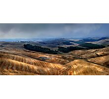 The Tuscany valley Photographic Print