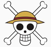 One Piece Flag Kids Tee