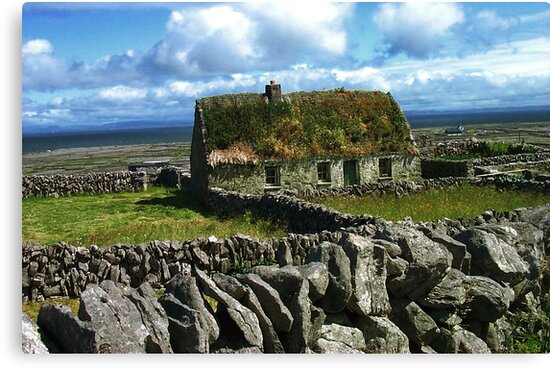 Old Cottage by Orla Cahill Photography