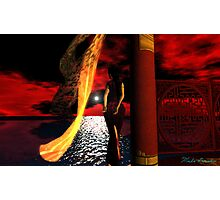Red Skies  紅色天空 Photographic Print