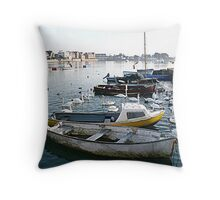 Emsworth Harbour Throw Pillow