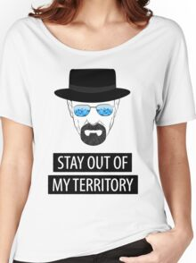 Breaking Bad - Stay out of my territory Women's Relaxed Fit T-Shirt