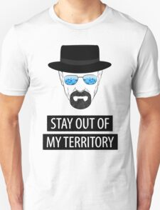 Breaking Bad - Stay out of my territory T-Shirt