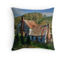Surrounded by Christmas Trees Throw Pillow
