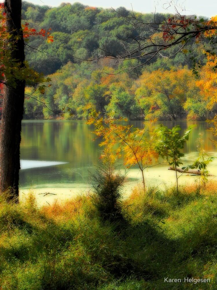 Radnor Lake by Karen  Helgesen