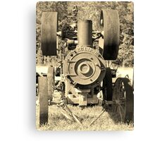 Old Machinery Canvas Print