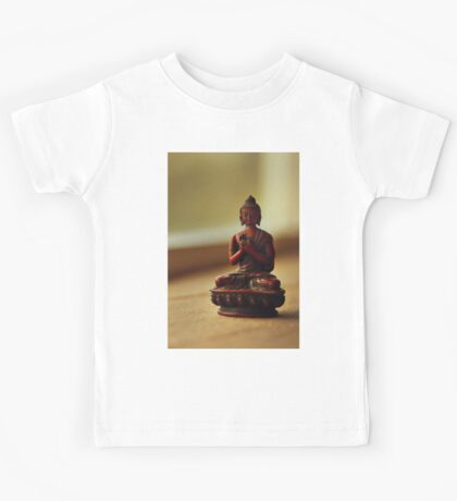 Peace with Buddha Kids Tee