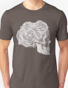 skull per saeta - white ink T-Shirt