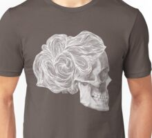 skull per saeta - white ink Unisex T-Shirt