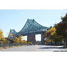 Jacques-Cartier Bridge, Montreal, Canada Photographic Print
