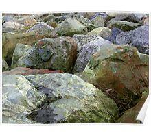 Rocky Landscape Poster