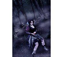 Evil Snow White Photographic Print