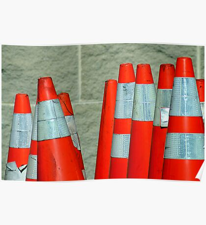 Send In The Cones Poster