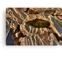 Rock Form at Livermore Study 76 Canvas Print