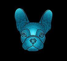 French Bulldog Mandala  by The Jazz Division