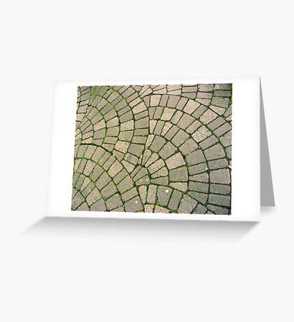 Grassy Footpath Greeting Card