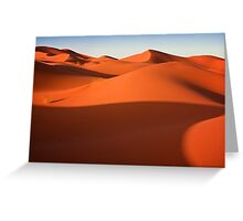 Sahara Desert Greeting Card