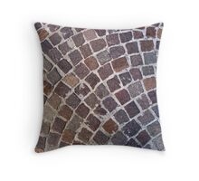 Pavement no.3 Throw Pillow