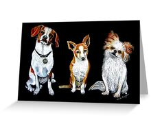 Dogs - Man's Best Friends Greeting Card