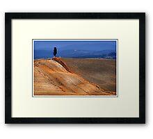 Golden border Framed Print