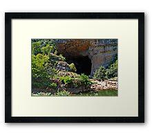 Grotte du Mas d'Azil 3 Framed Print