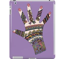 Colourful Mayan Mehndi hand iPad Case/Skin